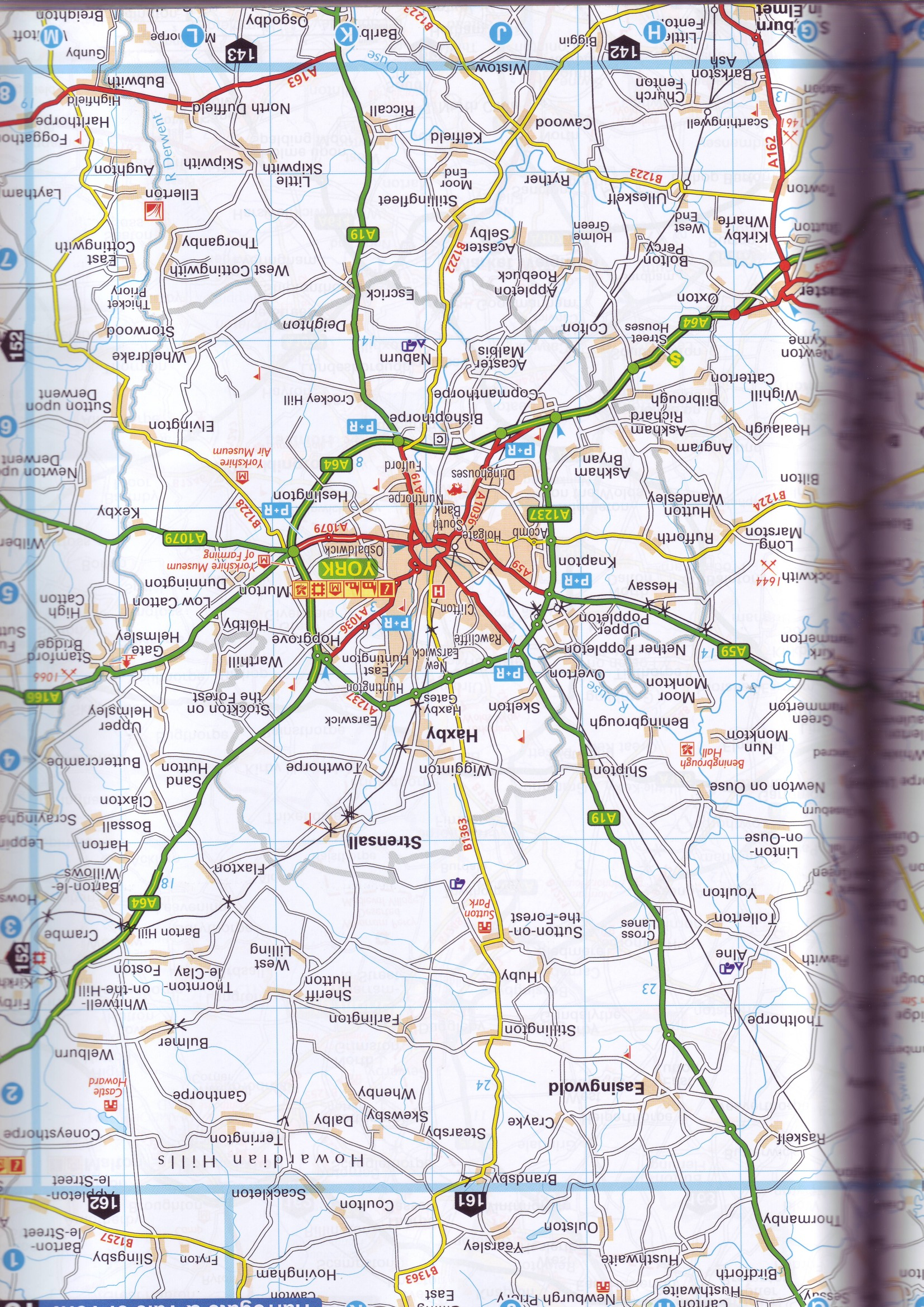 Road Atlases Great Britain - Buy online on viamichelin route planner, microsoft route planner, nike route planner,