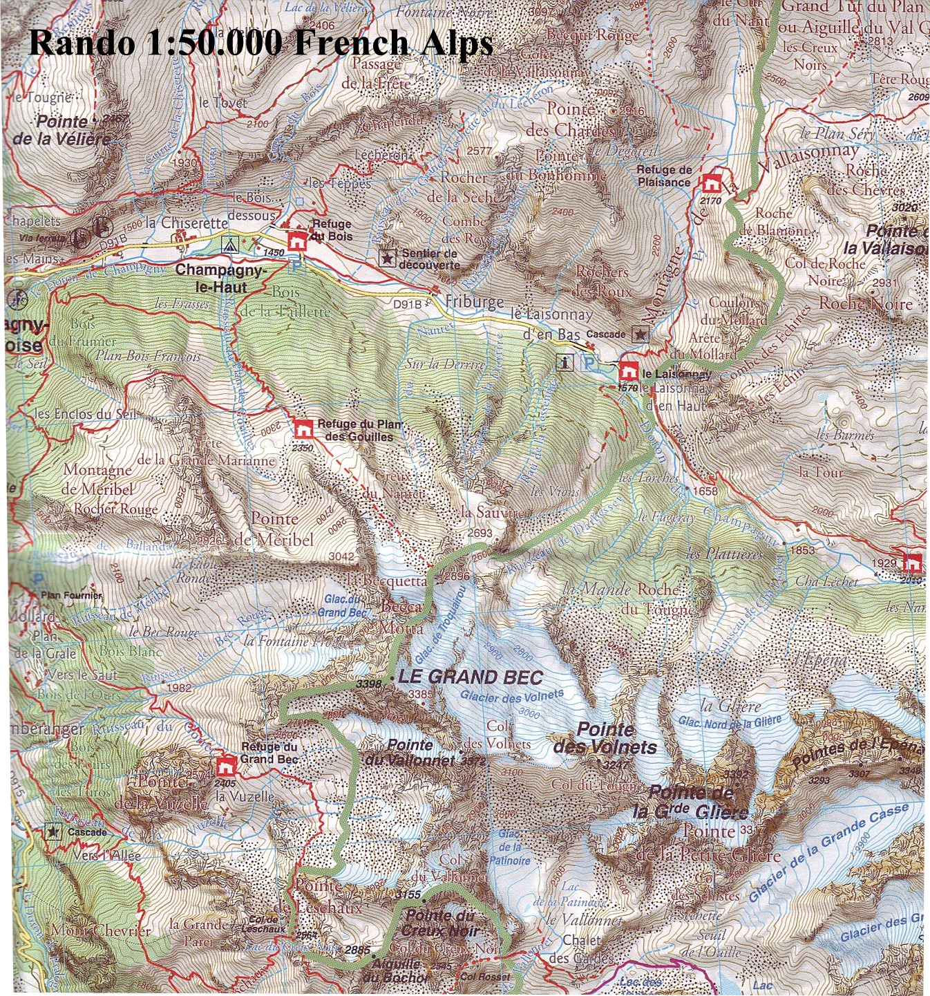 French Walking Maps and Walking Guides France to Buy Online from The