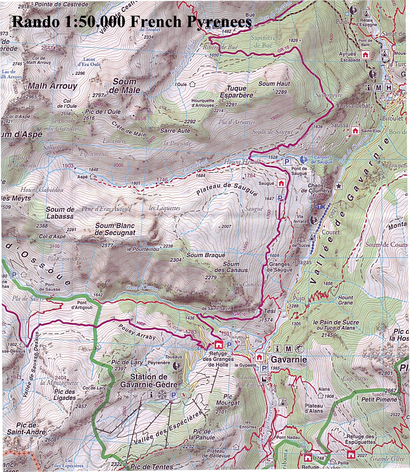 Map Of The Alps In France.French Walking Maps And Walking Guides France To Buy Online From The