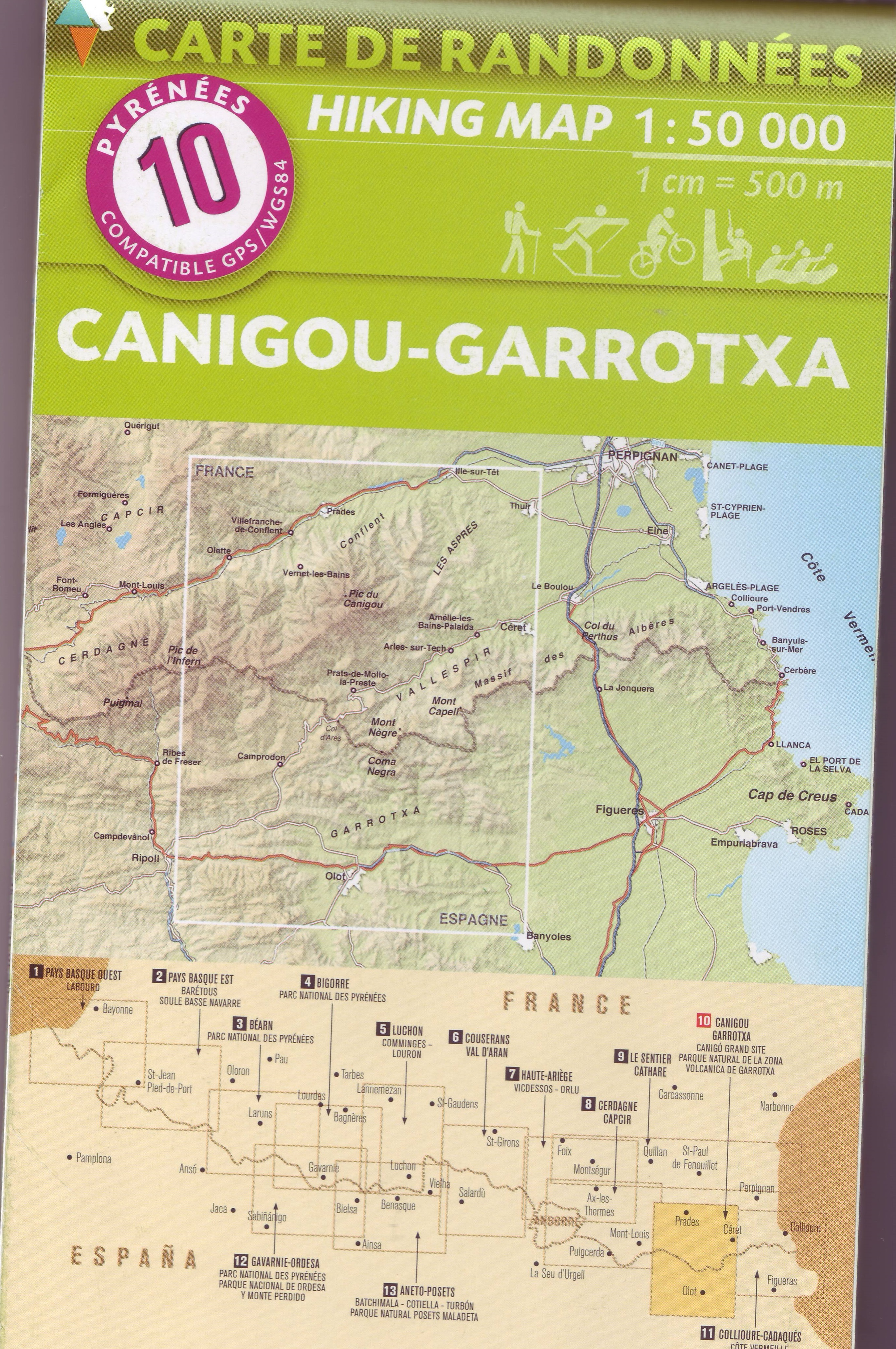 French Walking Maps and Walking Guides France to Buy Online ...