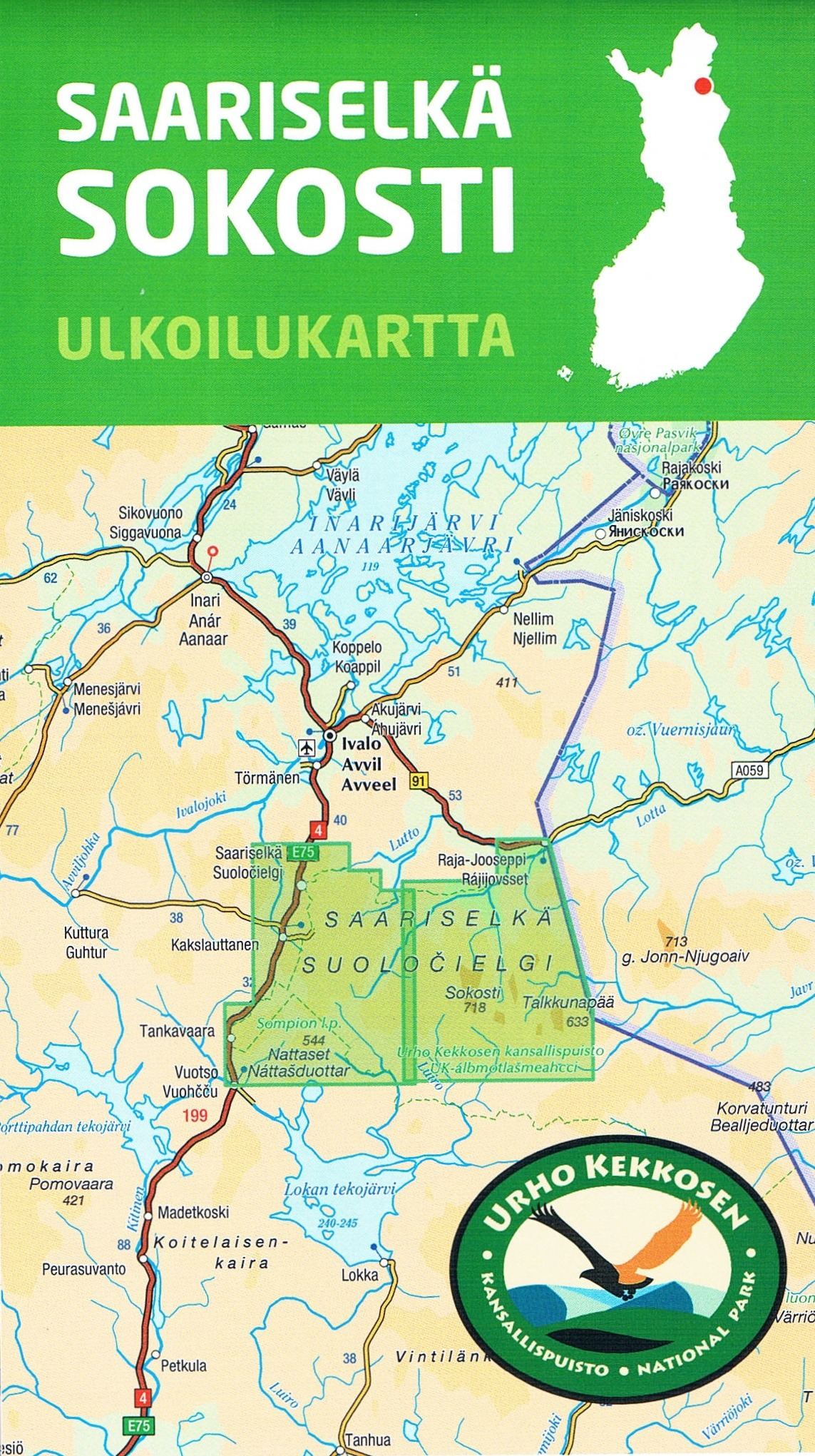 Finland Buy Maps and travel guides online