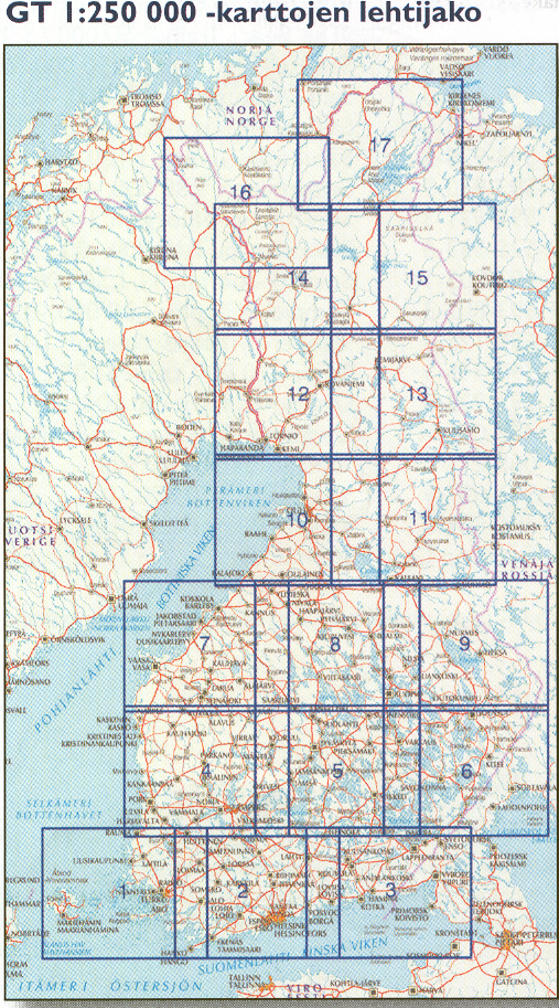 Pudasjarvi Finland  city images : Finland Buy Maps and travel guides online