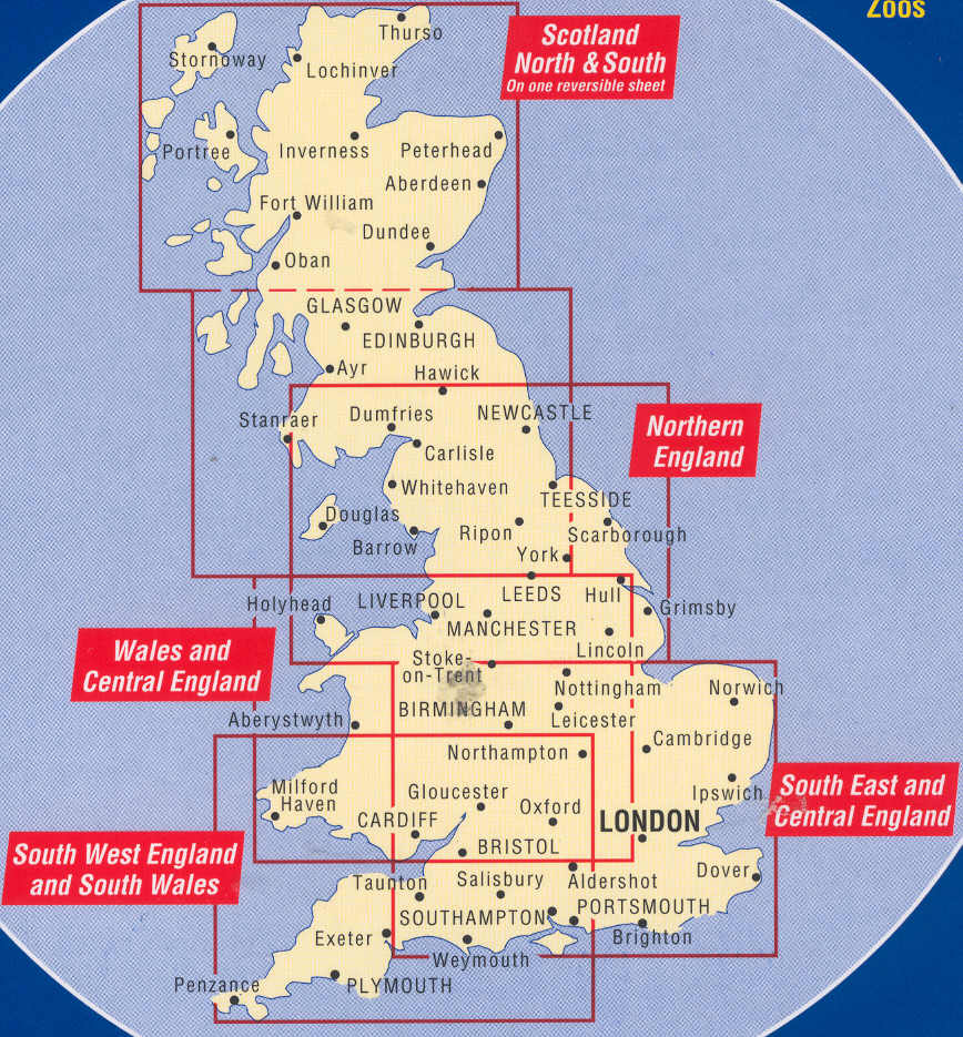 Great Britain Maps  Buy online