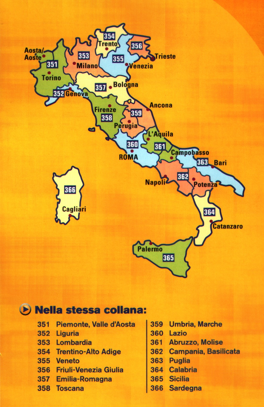 Map Of Italy Showing Bologna.Italy