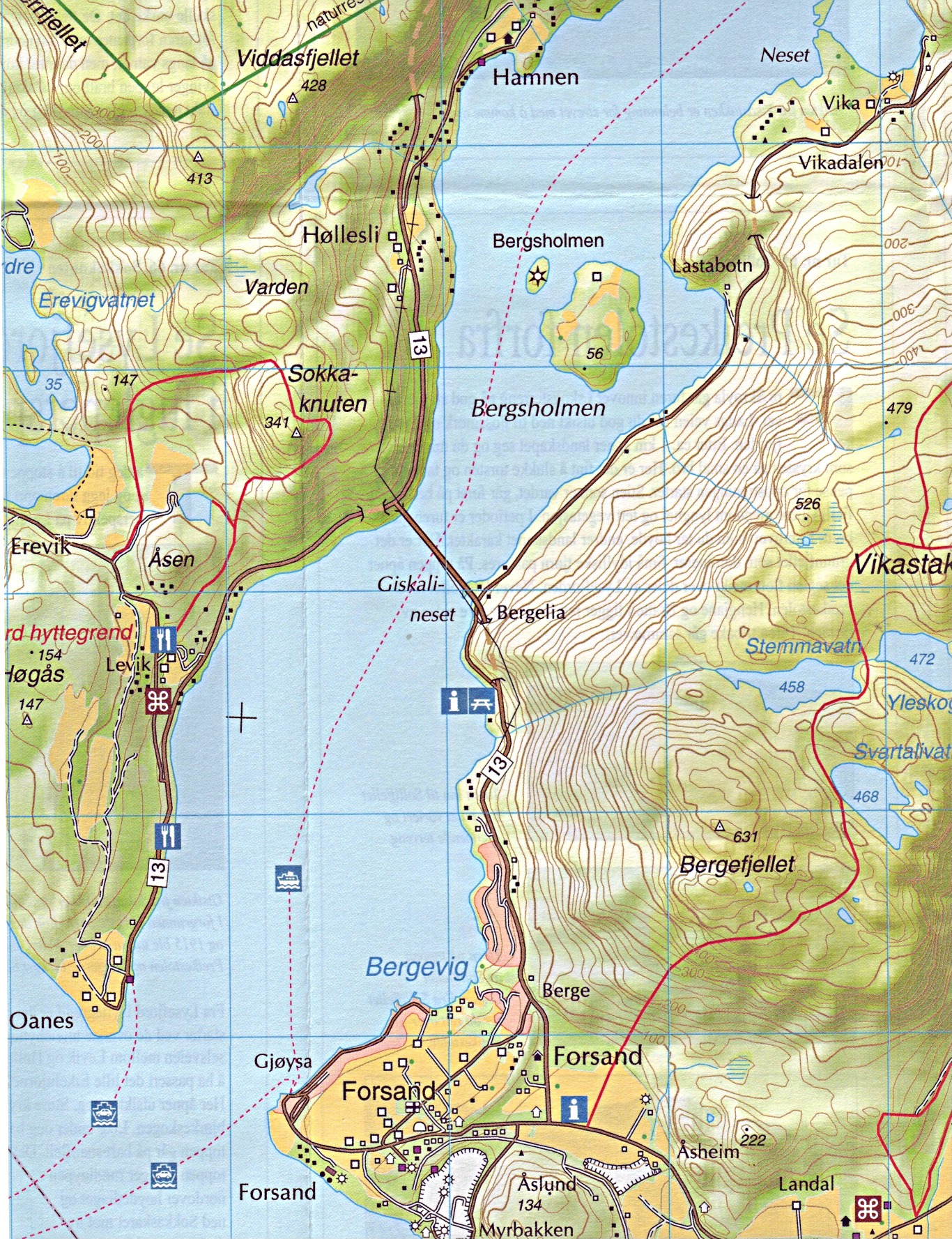 Norwegian Walking Maps and Walking Guides Norway to Buy Online from ...