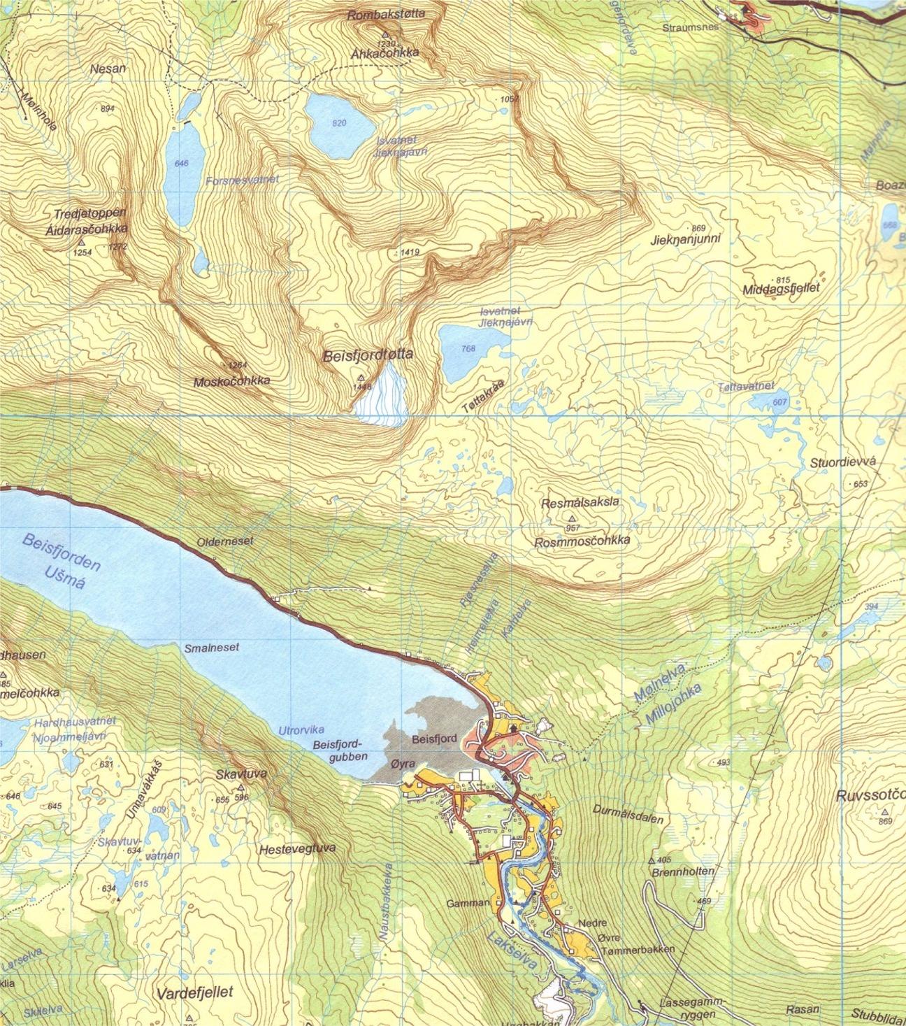 Norwegian Walking Maps And Walking Guides Norway To Buy