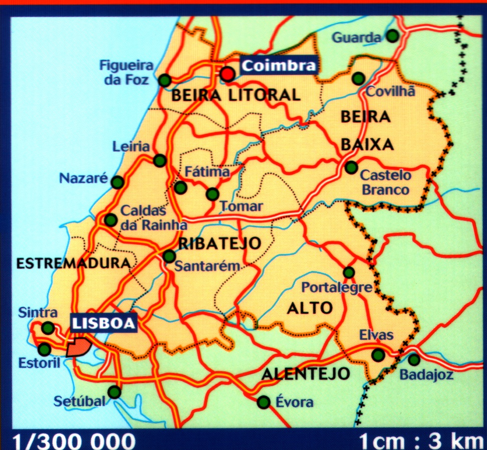 Portuguese Walking Maps and Walking Guides Portugal to Buy Online ...