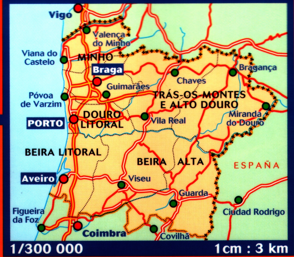 Portuguese Walking Maps And Walking Guides Portugal To Buy Online - Portugal map