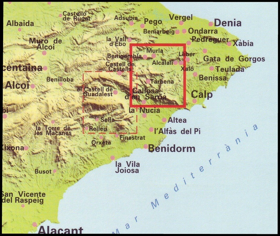 North Of Spain Map.Spanish Walking Maps And Walking Guides Spain To Buy Online From The