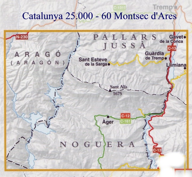Costa De La Luz Spain Map.Spanish Walking Maps And Walking Guides Spain To Buy Online From The