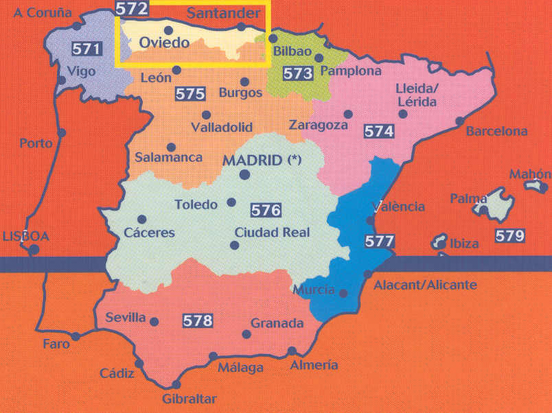 Spanish Walking Maps and Walking Guides Spain to Buy Online from The ...