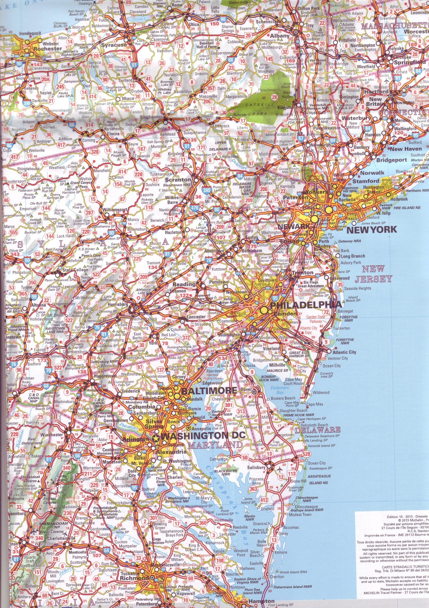 USA Map United States Map Online Maps Of United States Country - Usa map with roads