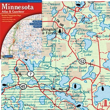 MINNESOTA  Buy Maps And Travel Guides Online