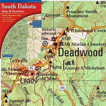 SOUTH DAKOTA  Buy Maps And Travel Guides Online