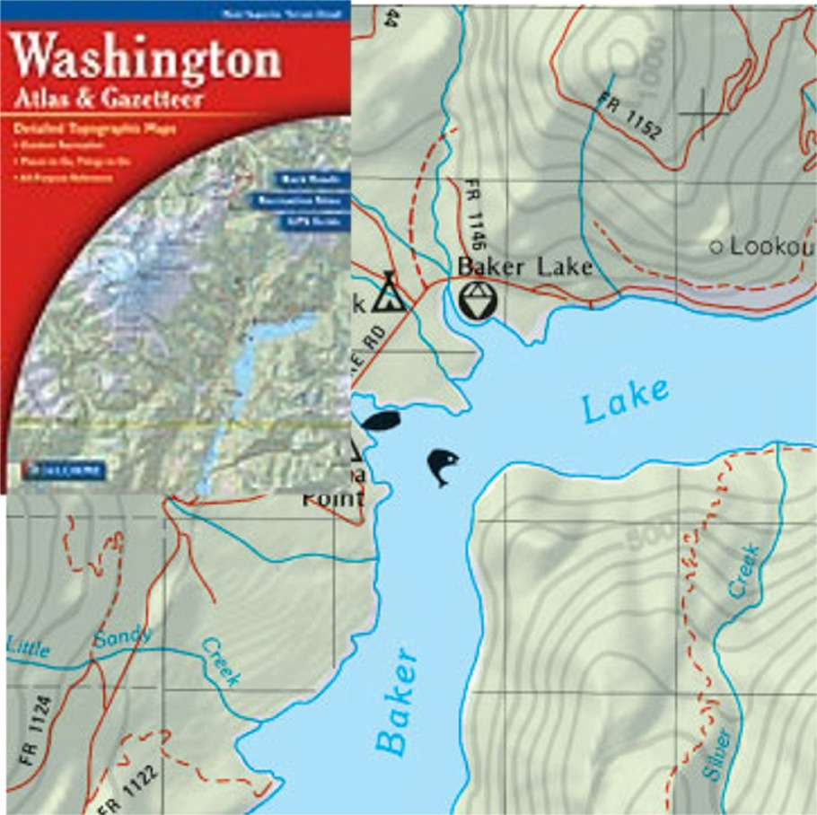 WASHINGTON - Buy Maps And Travel Guides Online
