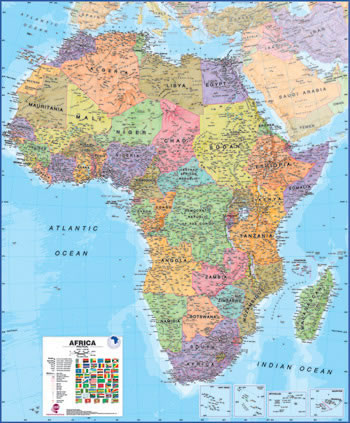 Africa Buy Maps And Travel Guides Online
