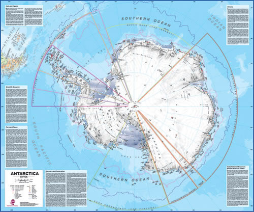 Antarctic Buy Maps And Travel Guides Online