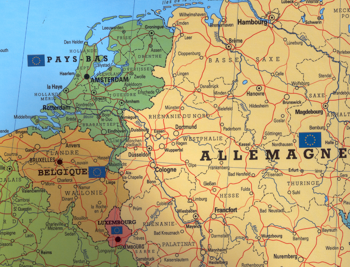 Europe Wall Maps - Buy online